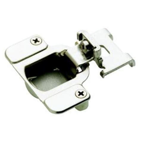amerock 3 8 in overlay concealed cabinet hinge