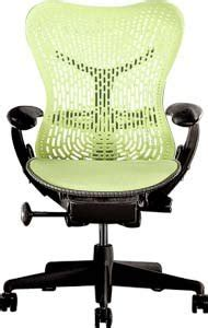 Mirra Chair Fully Featured Citron On Graphite Citron Office Furniture
