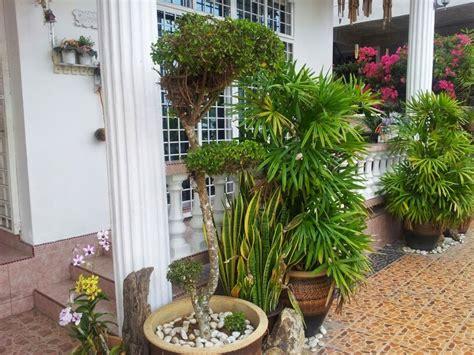 hiasan halaman rumah teres desainrumahidcom