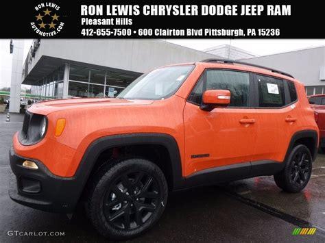 2017 jeep orange 2017 omaha orange jeep renegade latitude 4x4 119090666