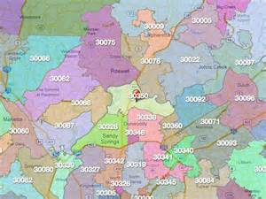 atlanta area code map atlanta zip code boundaries quotes