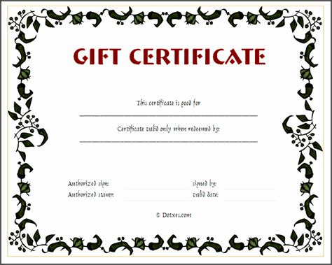 10 Gift Voucher Templates Sletemplatess Sletemplatess Skydiving Gift Certificate Template