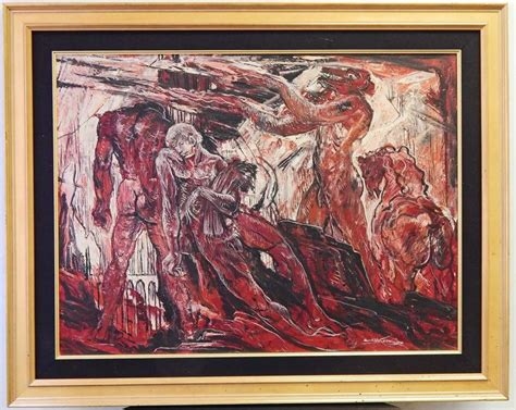 quot dante s inferno quot post war expressionist painting in