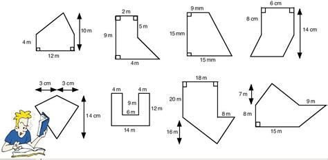 area of polygons worksheets free calculating the area of
