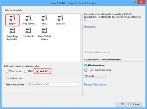 Web Api Tutorial Visual Studio 2013 | create an odata v4 endpoint using asp net web api 2 2