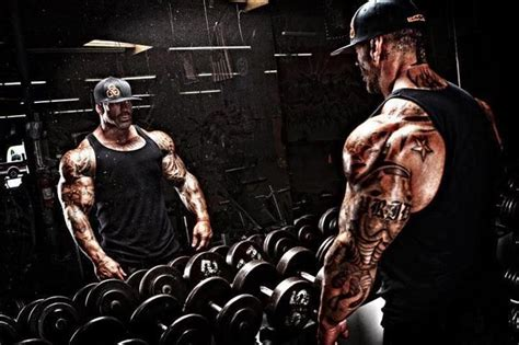 rich piana tattoos bodybuilder tattedandshredded