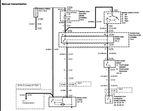 ford focus alternator wiring diagram wiring diagram schemes