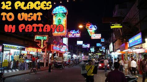 places  visit  pattaya thailand youtube