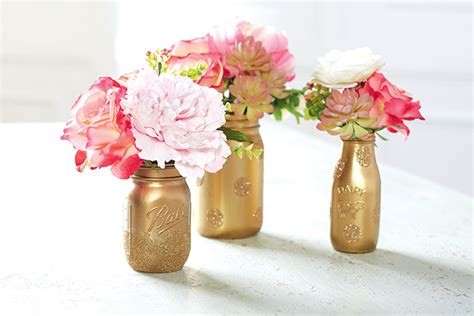 how to make simple diy flower arrangements glitter inc vintage glass milk bottle wedding inspiration
