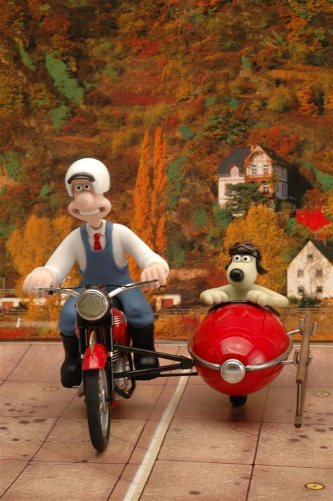 Wallace and Gromit Motorbike and Sidecar Airfix by
