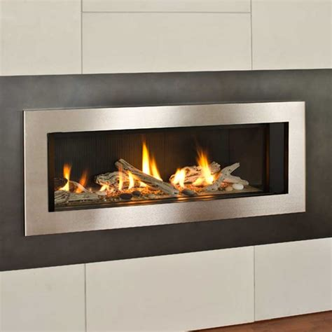 l2 series 46 quot linear gas fireplace superior