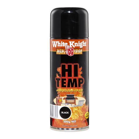 spray paint high temperature white high temp 300g spray paint black bunnings
