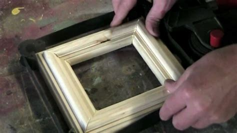 simple picture frame   woodworking