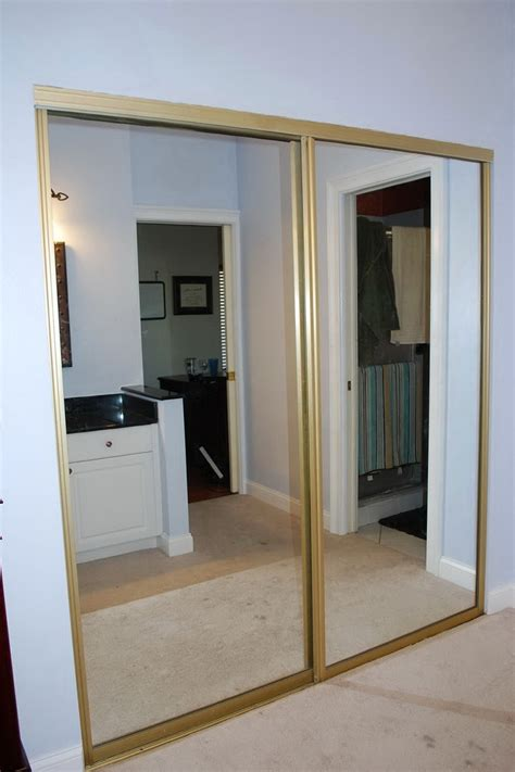 Mirrored Closet Doors Sliding Sliding Mirror Closet Doors Home Design Ideas