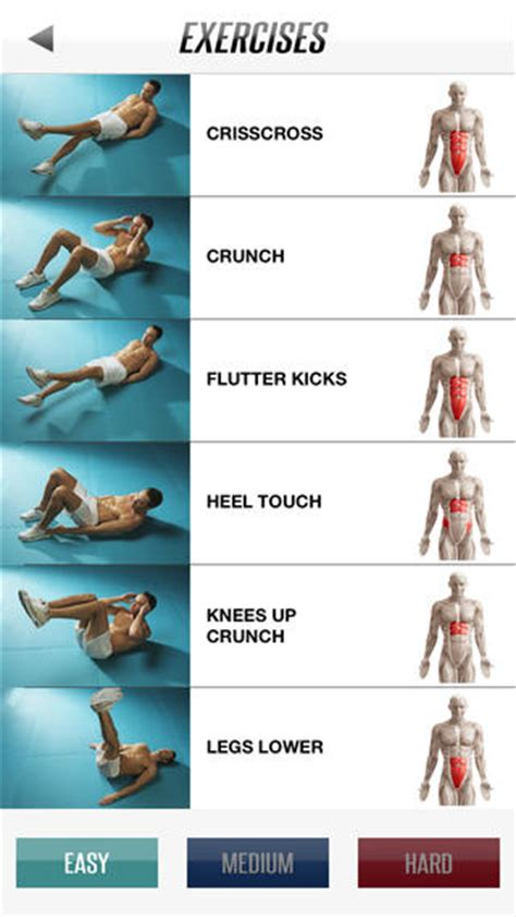adrian 6 pack abs workout on the app store on itunes