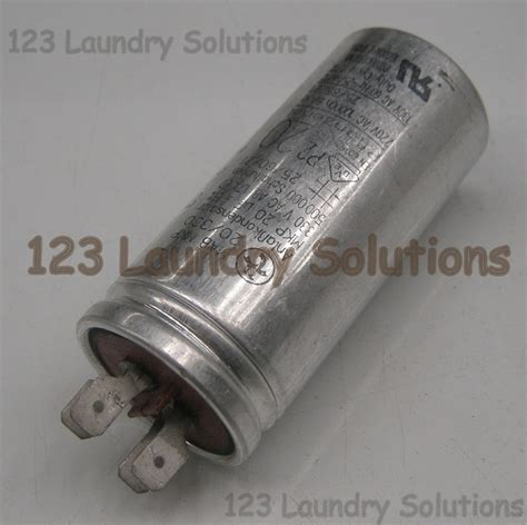 capacitor load washer capacitor 20mfd mp 330v unimac f370224p ebay
