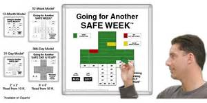 Safety Calendar Template by Magnetic Safetycross 174 Safety Awareness Motivational System