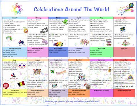 Celebrate Calendar Celebration Calendar Tips And Resources