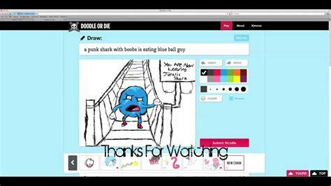 Doodle Or Die Speed Drawing 1 Blue