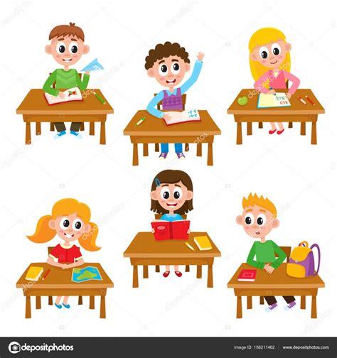 clipart scuola primaria elementary school in classroom reading writing