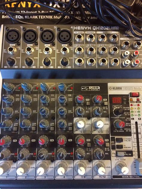Behringer Xenyx Qx 1202 Usb xenyx qx1202usb behringer xenyx qx1202usb audiofanzine
