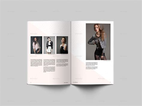 lookbook template fashion lookbook template by shadds graphicriver