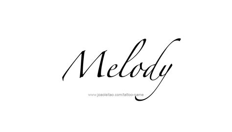 melody tattoo melody name www pixshark images galleries