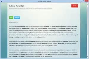 Rewriting Essays by Article Rewriter Software Essay Rewriting Parapharser Dr Essay