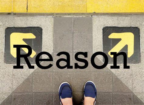 Reason For Reason Theoryofknowledge Net