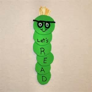 bookworm bookmark template kid activities crafts bookmarks