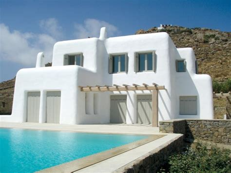 Greek Style House | fancy greek mediterranean style homes
