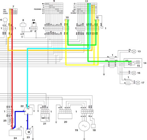 aprilia rs 50 wiring diagram dejual