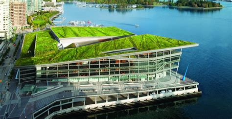 vancouver convention centre green roof flynn group of vancouver convention centre is officially the world s