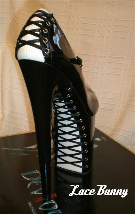 platform shoes high heel corset back flamingo887