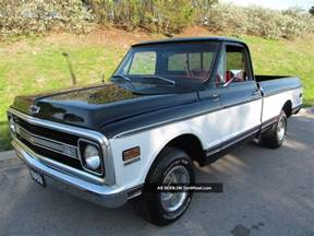 Chevrolet Up 1969 1969 Chevy C 10 Nicely