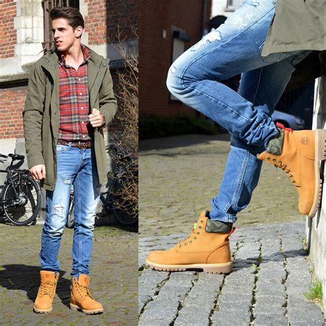 combinar botas timberland matthias geerts my yellow boots lookbook