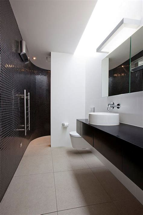 define bathroom gorgeous bathroom in blacka nd white with floating vanity