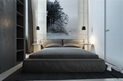 dark themed interiors grey effectively interior design