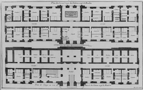 chateau floor plans file plans of ground floor and second floor of the chateau neuf jpg wikimedia commons