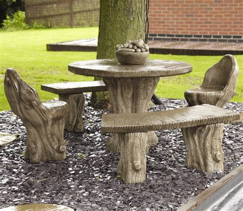borderstone woodland garden furniture patio set