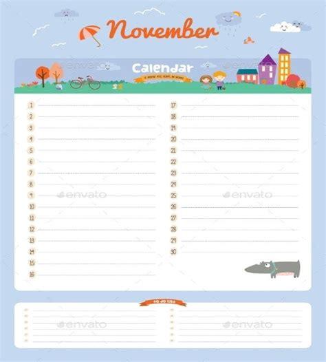 birthday calendar template 43 birthday calendar templates psd pdf excel free