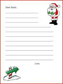 Dear santa letter template christmas letter tips com