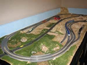 Toy trains layouts plans free 4 by 8 ho train layout adventures of