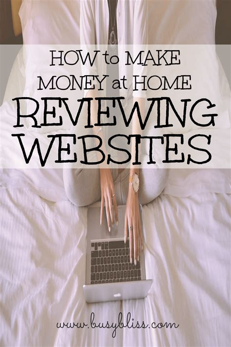 make money at home how to make money at home reviewing websites busy bliss