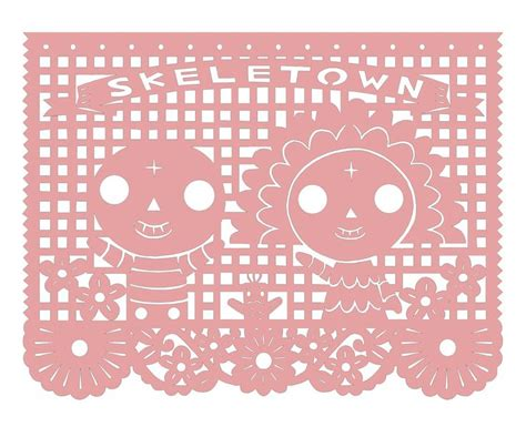 papel picado template for kids 34 best images about dose papel picado on
