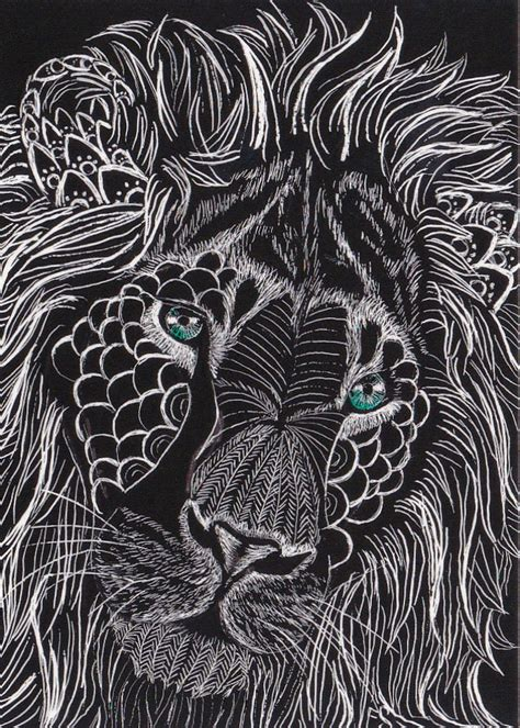 zentangle lion zentangle spiratie pinterest pinterest the world s catalog of ideas