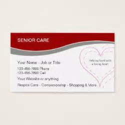seniors business card health care business cards templates zazzle
