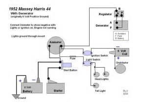 massey harris 22 wiring diagram massey harris massey