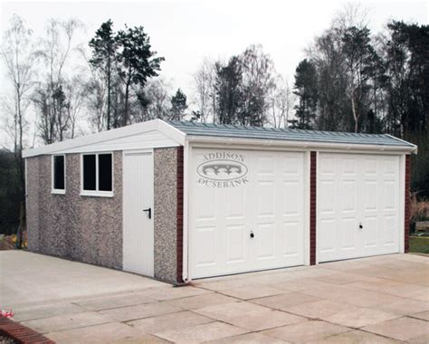 hipped roof pent garages