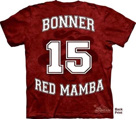 Matt bonner red mamba shirt ten things that you never expect on matt bonner red mamba shirt